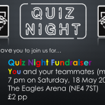 Quiz Night Fundraiser on Saturday, 18 May 2019